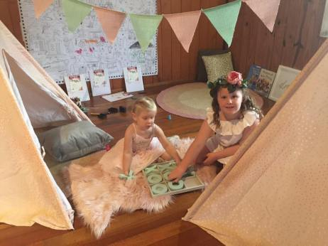 Tee Pees for children's area