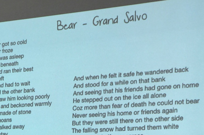 Some words - 'Bear'